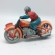 Ancien jouet moto mécanique Fabrication Technofix