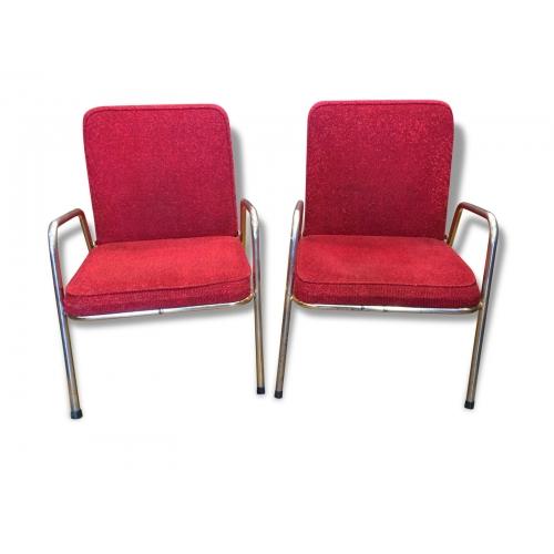 Paire de fauteuil René Herbst
