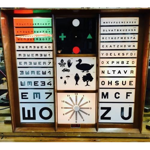 Meuble ophtalmologie